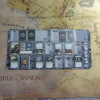 Lord of the Rings: Journeys in Middle Earth Player Mat/Dwarven Mat for LOTR JIME