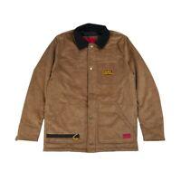 Caterpillar Velvet Workwear Jacket Giacca Uomo 2310596 12757 Cognac