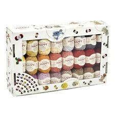 Genuine Sirdar Happy Cotton DK Box. All 50 Shades. 50 X 20g Balls.