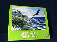 NEW!  EAGLE COVE HIDDEN IMAGES 750 PIECE JIGSAW PUZZLE BY JOHN VAN STRAALEN NEW