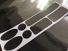 Carbon Fibre Bike Cycle cable rub frame protector vinyl patches MTB ROAD BMX DH