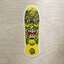 NHS Santa Cruz sticker Powell Vision skateboard Rob Roskopp monster ugly retro