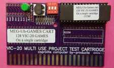 MEG-Uh-GAME Cartridge Commodore VIC-20  w/27C801 Eprom For 128 programs