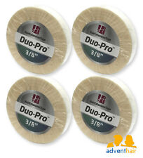 "WALKER Duo-Pro Hair Extensions Tape Roll 3/8"" x 6 yards wig hairpiece - 4 rolls"