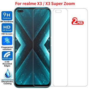 2PCS For OPPO Realme X3 X3 Super Zoom Tempered Glass Film Saver Screen Protector