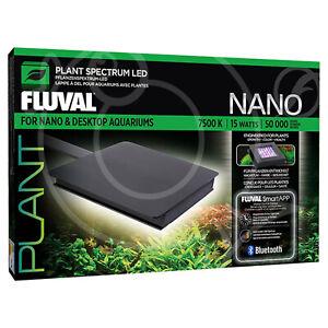 Fluval Nano Plant LED Unit 15W Bluetooth Controlled Spectrum Aquarium Fish Tank