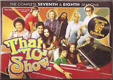 That '70s Show Season 7 & 8 - DVD TV Shows Seventh Eighth BRAND NEW