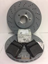 Genuine Mercedes-Benz C209 CLK AMG Sport Front Discs & Pads Kit NEW