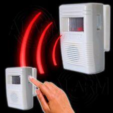 Sensor ALARMANLAGE Besuchermelder Sirene Hausanlage Bewegungsmelder Garten Alarm