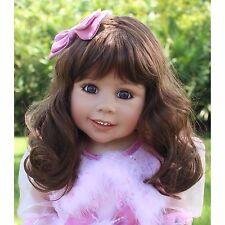 """NWT Masterpiece Dolls Abigail RARE Brunette Brown Eyes By Monika Levenig 34"""""""