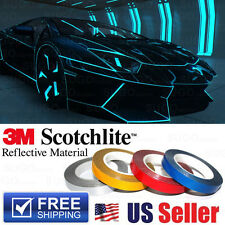 3M BLUE Self Adhesive Reflective Safety Tape Stripe DIY Sticker Reflector 150FT