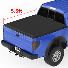 OEDRO Roll-up Truck Bed Tonneau Cover FIT FOR 15-20 Ford F-150 Styleside 5.5ft