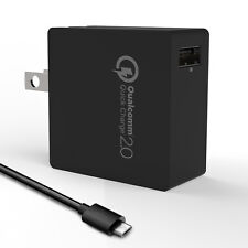 18W Turbo Wall Charger with Qualcomm Certified Quick Charge 2.0 Technology