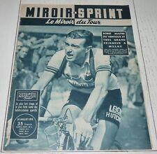 MIROIR SPRINT 20/07 1955 CYCLISME TOUR FRANCE BOBET VENTOUX MALLEJAC