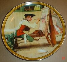 Knowles American Fine China SIGN OF THE TIMES By Norman Rockwell