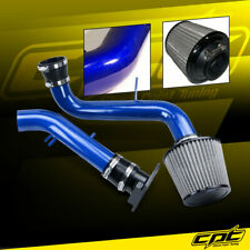 For 00-05 Mitsubishi Eclipse 2.4L 4cyl Blue Cold Air Intake + Black Filter Cover