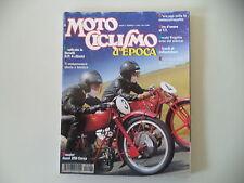 MOTOCICLISMO D'EPOCA 4/1996 MOTO GUZZI 250 CORSA/STORIA SIDECAR/ERCOLE FRIGERIO