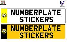 MOON EYES MOONEYES NUMBERPLATE NUMBER PLATE STICKER GB STYLE SIGN DECAL VINYL
