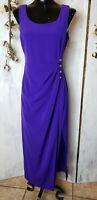 EVAN PICONE Gorgeous Purple Wrap Dress Size 6
