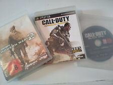 Sony PS3 3x Call of Duty Black OPs 2 + Modern Warfar 2  + Advanced Warfare