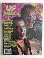 WWF Magazine 1989 March Demolition Facing A New Future Axe & Smash WWE