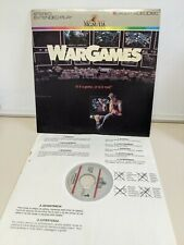 WarGames Laserdisc LD Letterboxed Edition Used