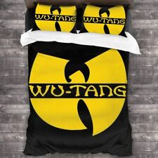 WU-TANG CLAN 3PCS Bedding Set Duvet Cover Pillowcases Comforter Cover Set
