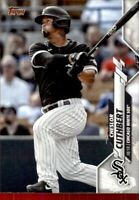 2020 Topps Update Cheslor Cuthbert Base #23 - Chicago White Sox
