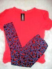 Women's Plus Clothing Lot 2X Nwt Knit Top Matching Lu La Roe Tall Curvy Legging