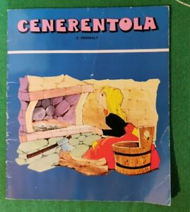 Libro Cenerentola C. Perrault 1980 Edizioni Arcobaleno Milano