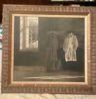 The Quaker, vintage framed print by  Andrew Wyeth. 1970s.