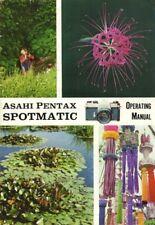 Asahi Pentax Spotmatic Instruction Manual