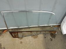 1966 1967 FORD FAIRLANE 2DR HARDTOP RH FRONT DOOR GLASS NON TINTED NICE USED