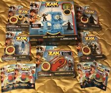 ZAK STORM LOT- INCLUDES FIGURES, VEHICLE PLAYSET & COLLECTIBLE TREASURE NEW