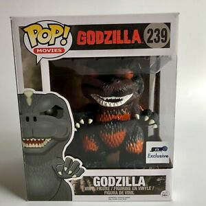 Funko Pop Movies Godzilla #239 BURNING GODZILLA GTS Exclusive Vinyl Figure