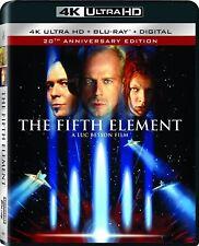 Blu Ray Ultra HD 4K THE FIFTH ELEMENT. Bruce Willis (5th). Region free. New.