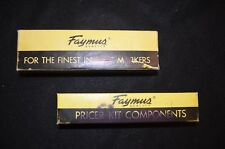 Vintage Faymus Price Marker with Ink, Boxes & Supplies