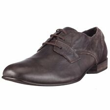 FLY LONDON / Men's Maley Brown Leather Oxfords US SZ 11 EURO 44 NEW $280
