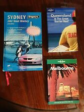 BULK Lot 3 Books ~ gregorys sydney street directory 66th ed 2002 HB +Melb QLD