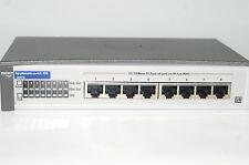 HP ProCurve 8 Port Switch 408 Hewlett Packard J4097B Ethernet 10/100 Mbps Prt Pt