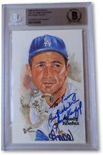 "Sandy Koufax Autographed Perez-Steele Postcard Dodgers ""To Jimmy"" Beckett BAS"