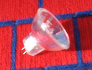 Box of 10 new 5w 6v fiber optic MR11 HALOGEN LIGHT BULB G4 covered 5 watt 6 volt