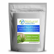 60 Fennel Seed Extract Complex Formula - Detox pills - High Quality UK Product