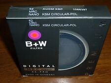 B+W XS-Pro 62mm MRC Nano High Transmission KSM Circular-Pol Filter #1066397