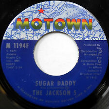 The JACKSON 5 45 Sugar Daddy / I'm So Happy MOTOWN label 1971 Soul MINT-