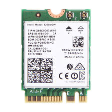 Intel 8265 Dual Band Wireless 8265NGW 802.11ac 867Mbps BT4.2 NGFF M.2 WiFi Card