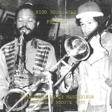 ** RICO RODRIGUEZ & FRIENDS UNRELEASED EARLY RECORDINGS SHUFFLE & BOOGIE 10in LP