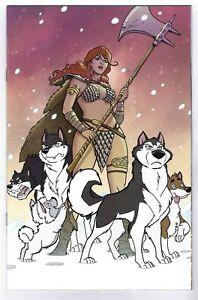 RED SONJA #2 (2021)- TONY FLEECS STRAY DOGS VIRGIN VARIANT