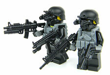 Black Ops Special Forces Custom Commandos(SKU4) made with real LEGO® minifigures