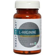 60 capsules HealthKart L Arginine (pre-workout capsules) 500mg (FS)